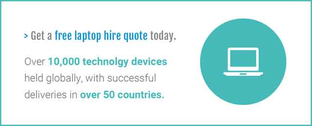 laptop hire quote