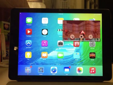 ipad hire picture in picture